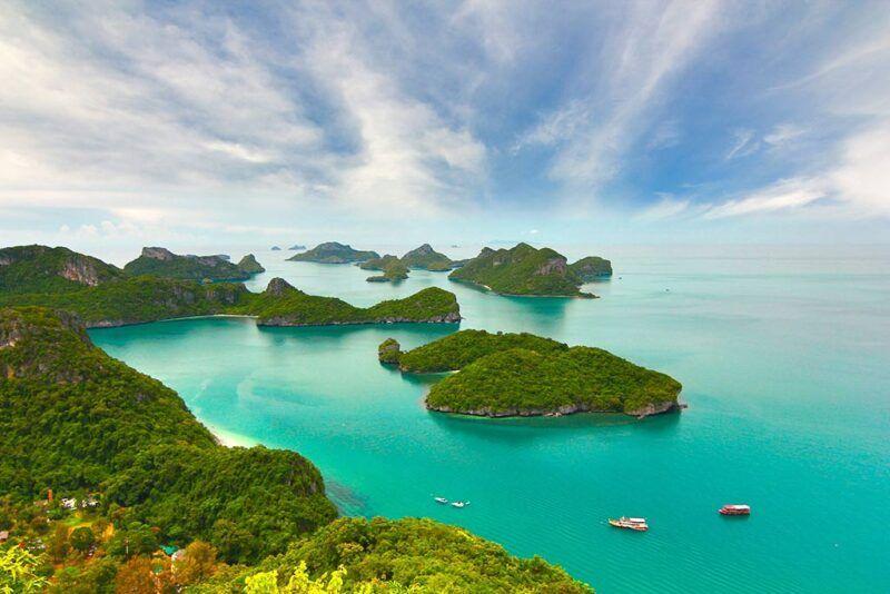 Quando andare in Thailandia isole e spiagge