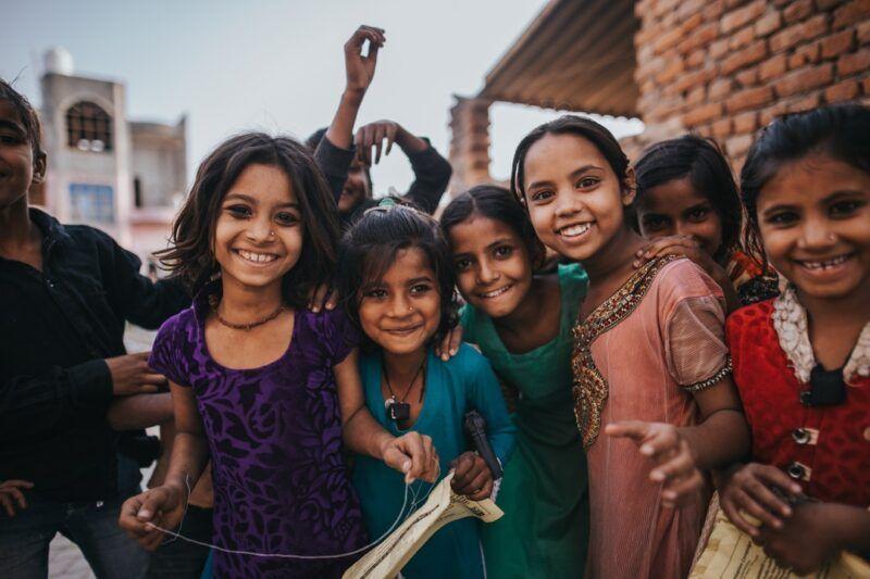 Sicurezza in India - bambini