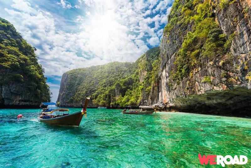Viaggiare alle isole Phi Phi - spiagge in Thailandia