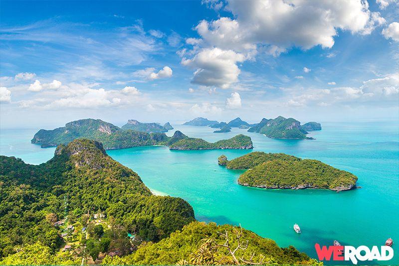 Parco marino Ang Thong Thailandia con WeRoad