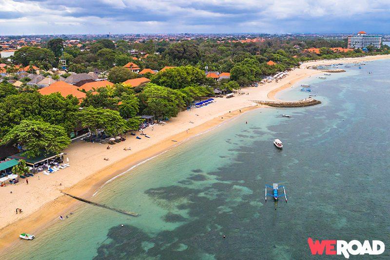 Bali viaggio - spiaggia e mare Sanur