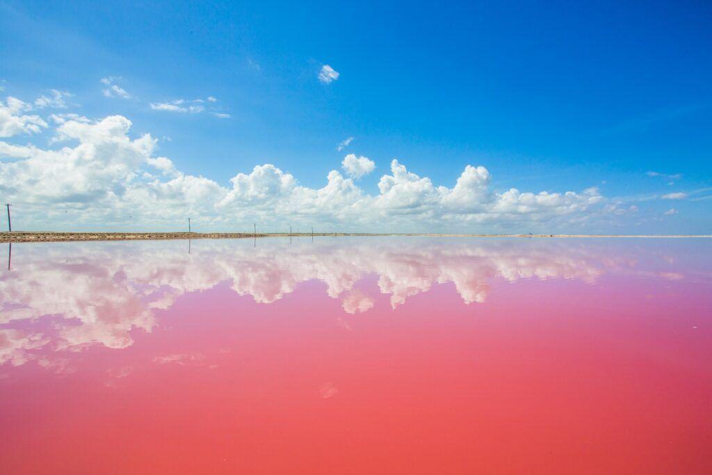 Viaggi Capodanno 2020: Messico. La laguna rosa di Las Coloradas.