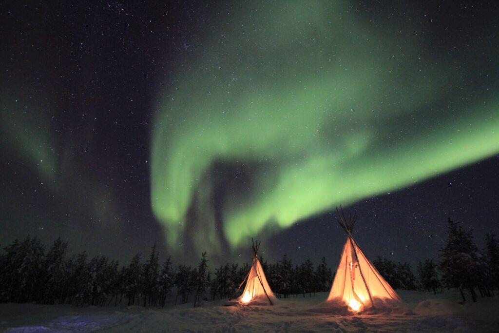 Aurora boreale quando