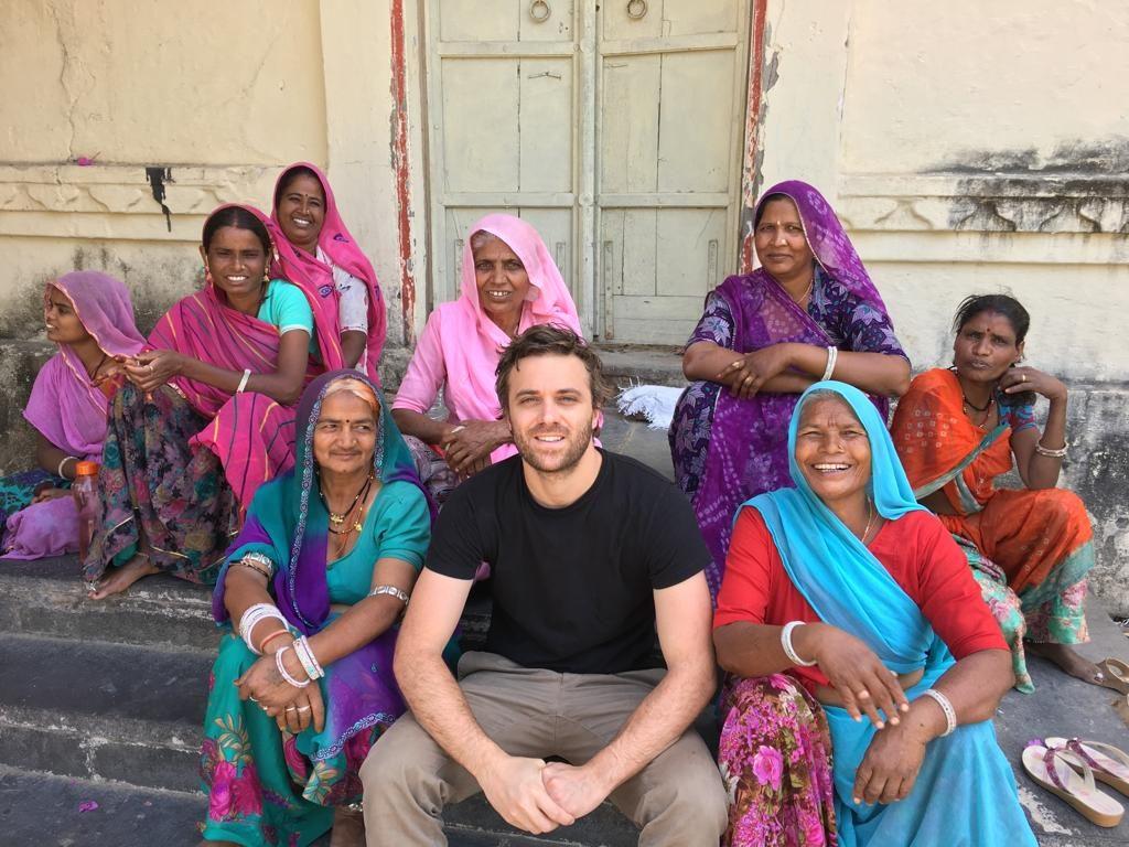 Edoardo in India