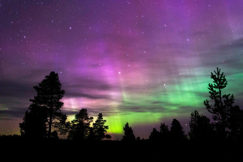 Luci del Nord Svezia