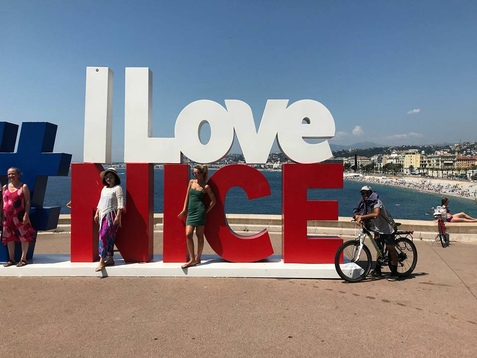 In bici fino a Nizza