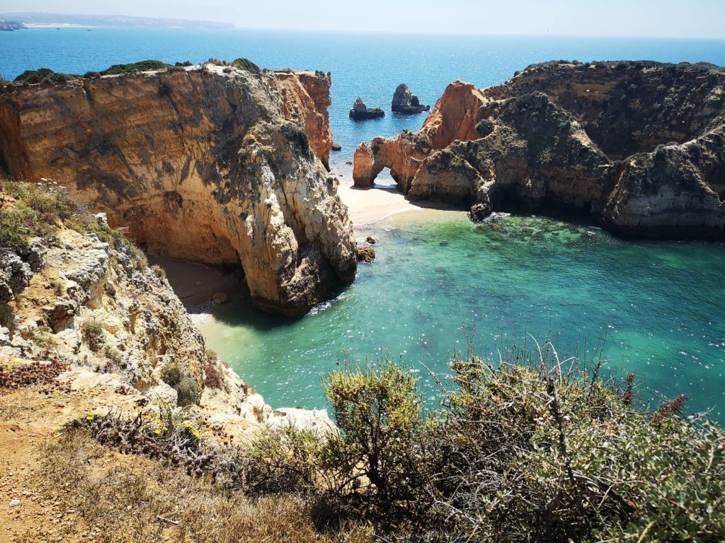 la costa dell'Algarve