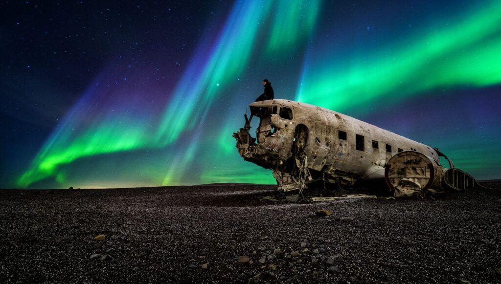 DC3 Plane Wreck aurora
