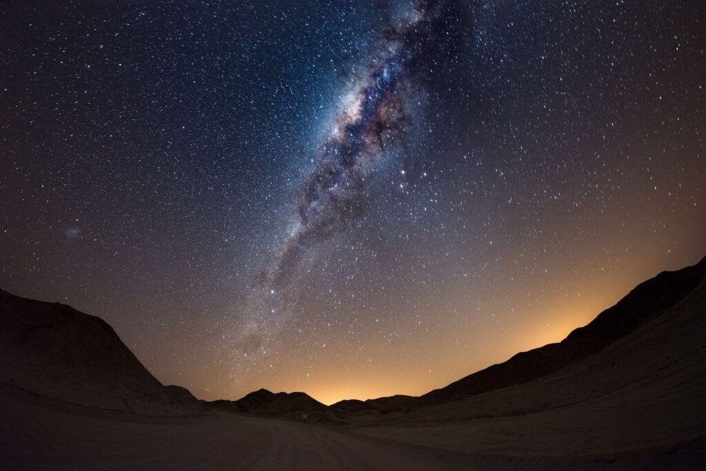 Notte nel deserto Namibia