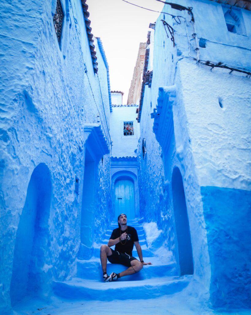 Città Blu, Marocco