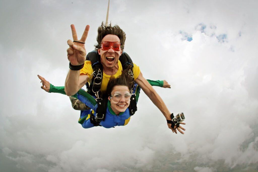 Avventure nel mondo: Skydiving