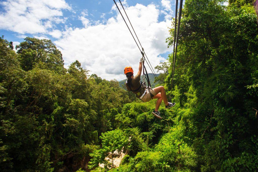 Avventure nel mondo: zipline