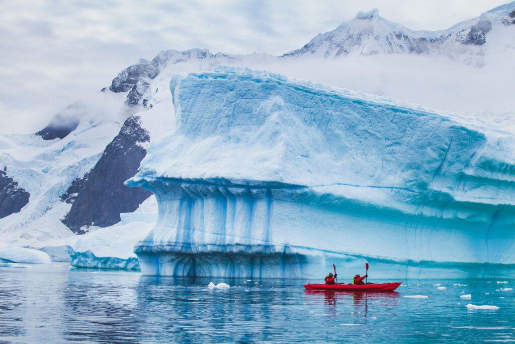 Kayak in Antartide