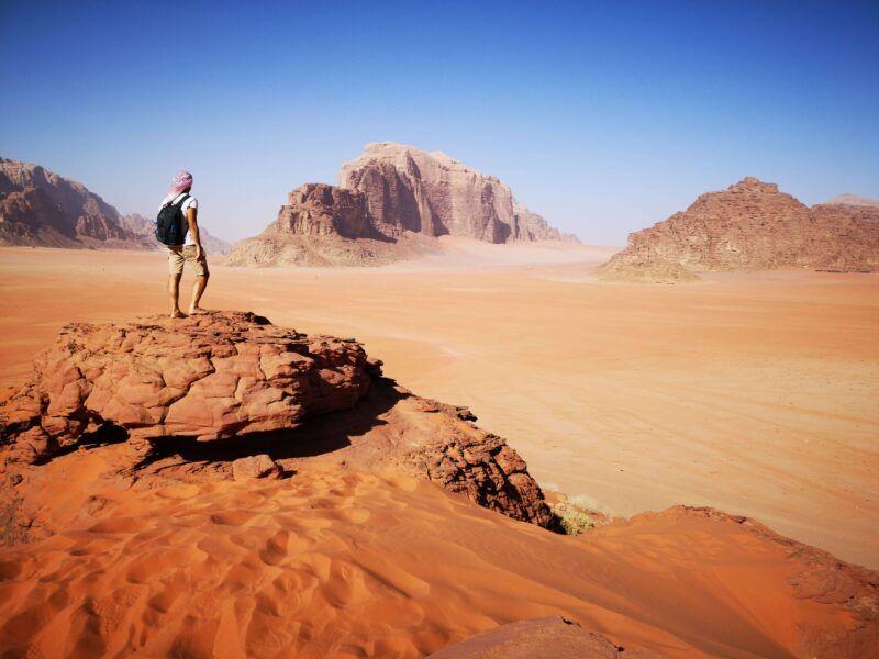 Giordania quando andare trekking
