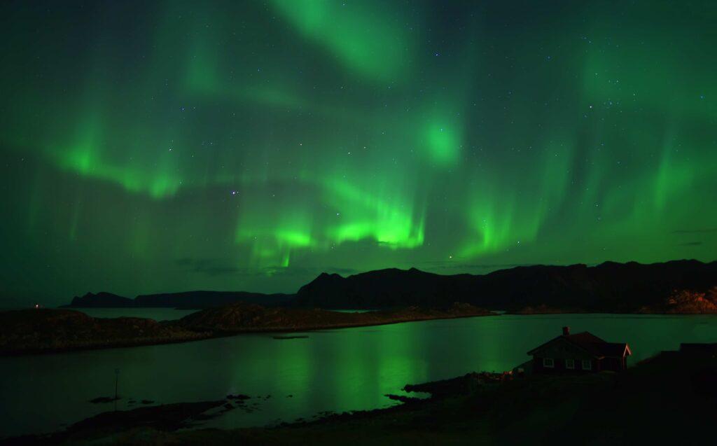 Aurora boreale quando: Capo Nord novergia