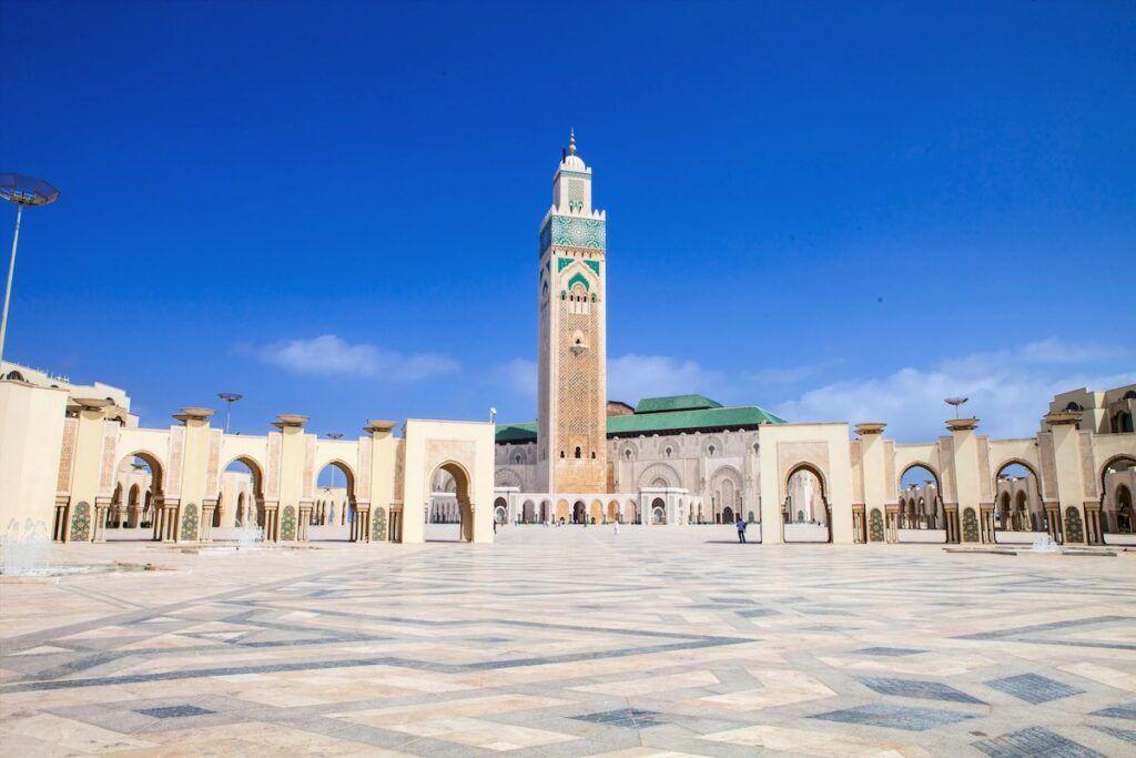 Marocco cosa vedere: la moschea di Hassan II a Casablanca