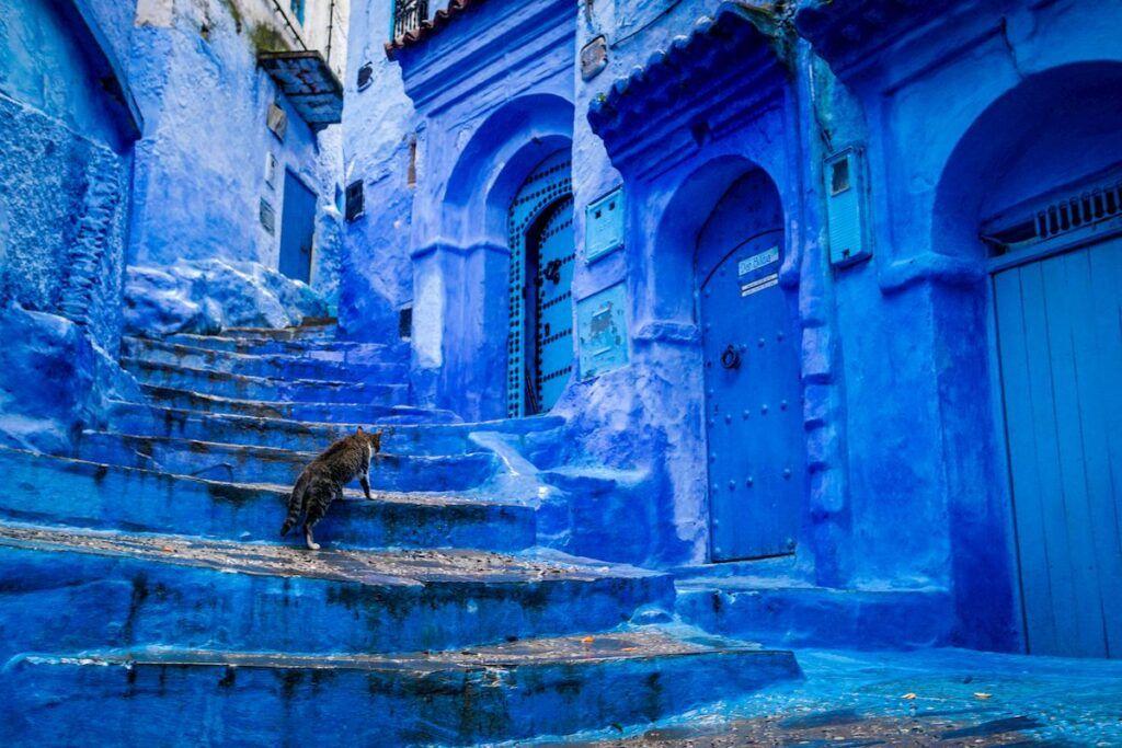 Le strade della perla blu del Marocco, Chefchaouen