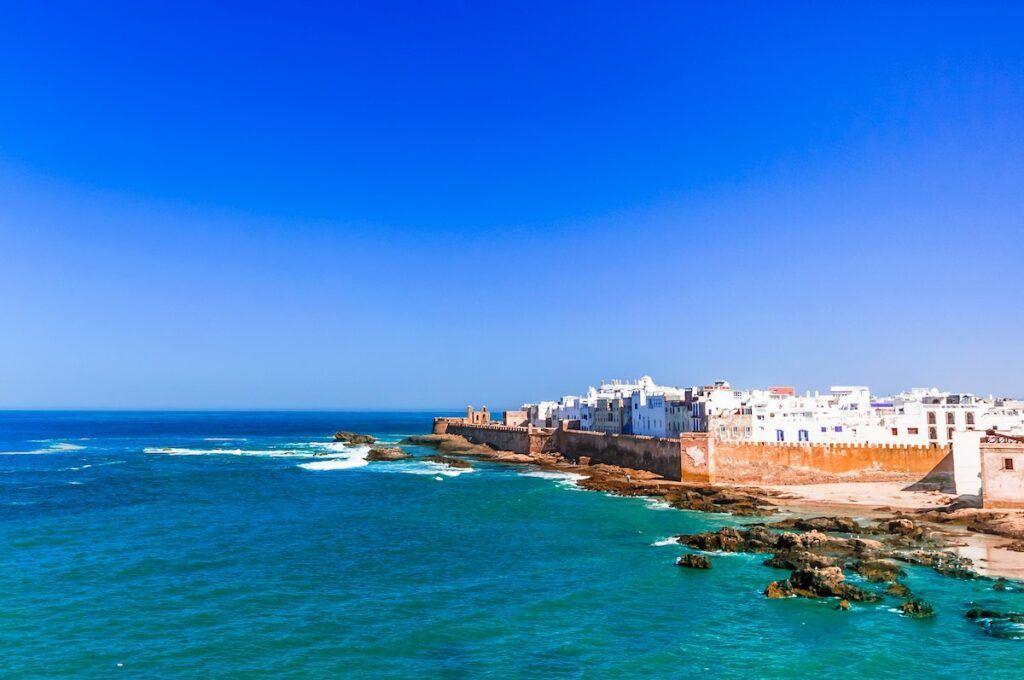 Essaouira: il mare in Marocco