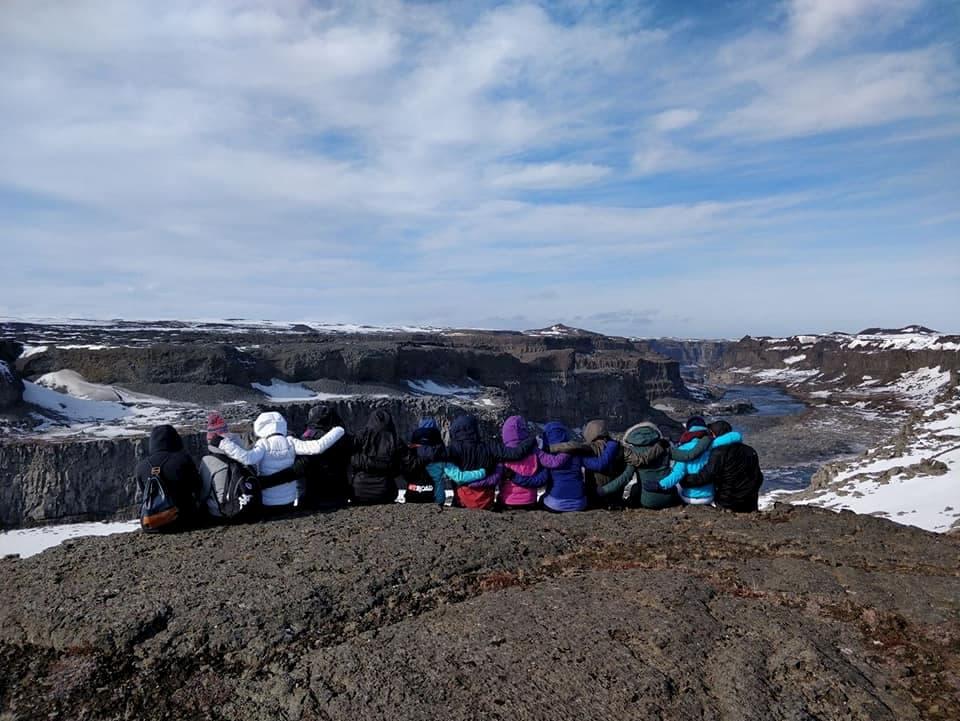 Foto gruppo islanda