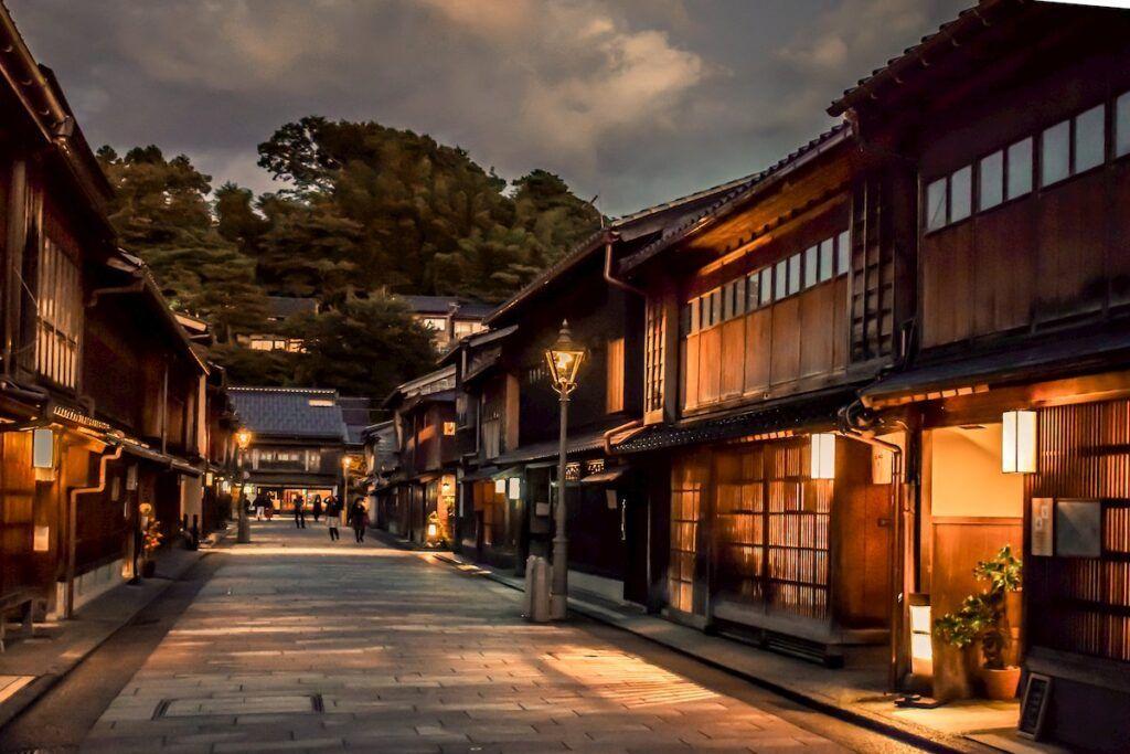 Kanazawa, tra geishe e samurai.