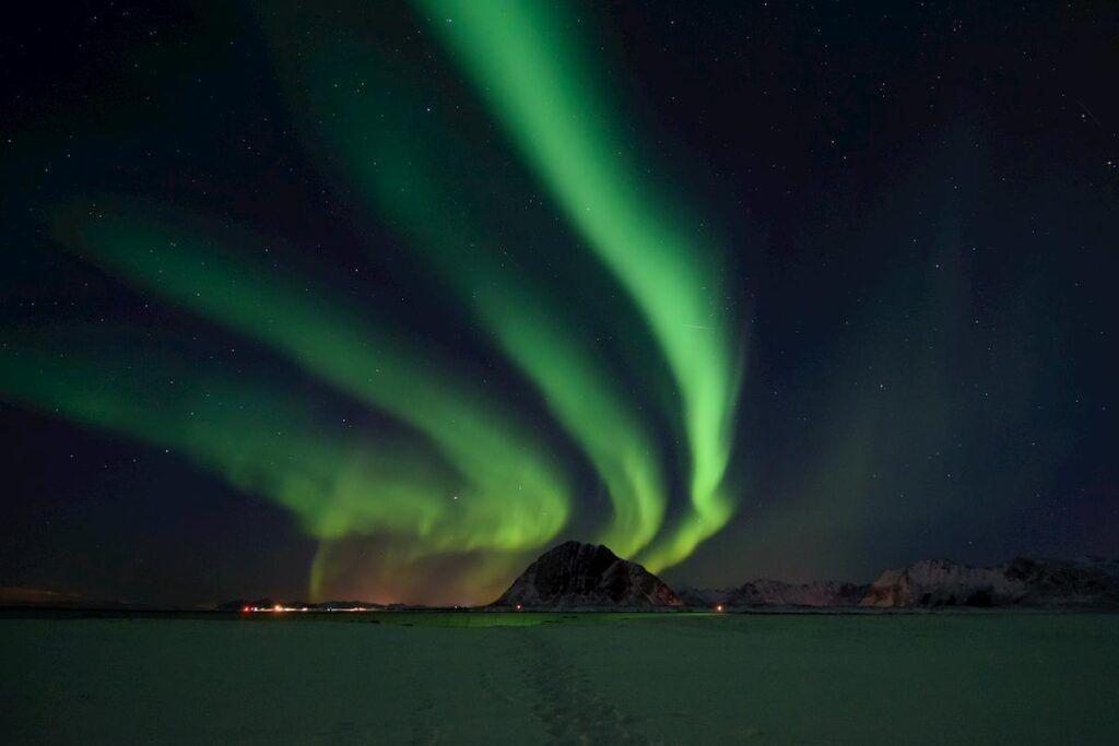 Aurora Boreale alle Lofoten