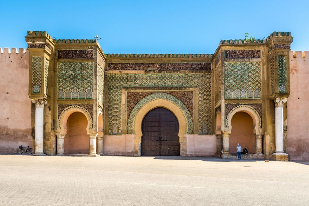 Bab el Mansour, la porta d'ingresso alla medina di Meknes