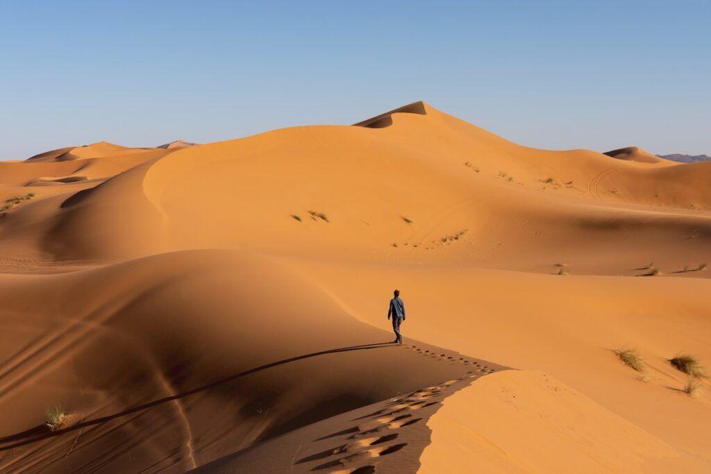 Marocco cosa vedere: il deserto del Sahara
