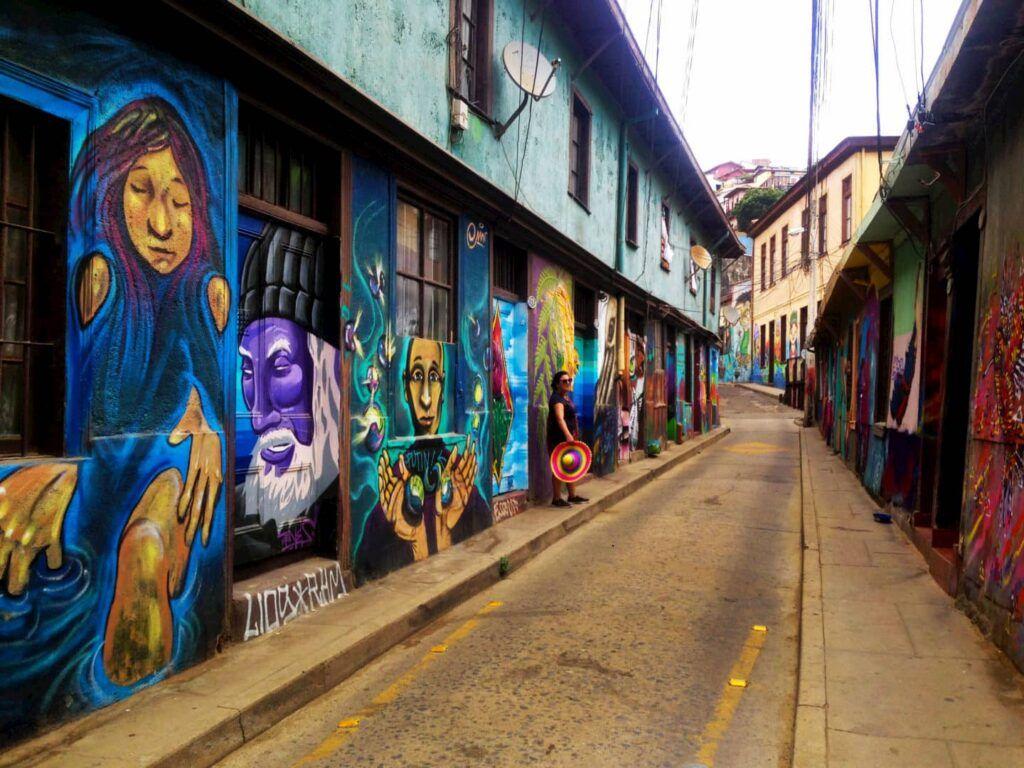 Murales di Valparaiso