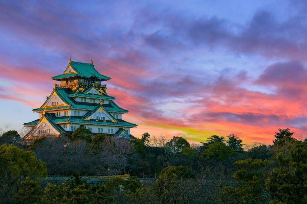 Cose da vedere in Giappone: il castello di Osaka.