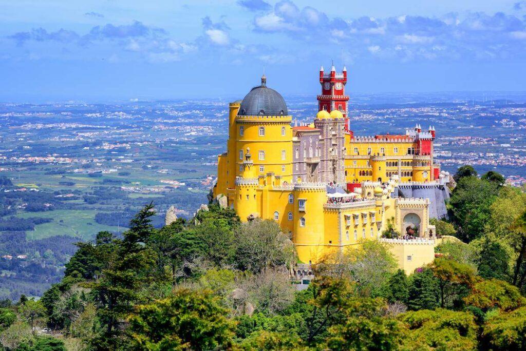 Cosa vedere in portogallo: Il Palacio da Pena, Sintra