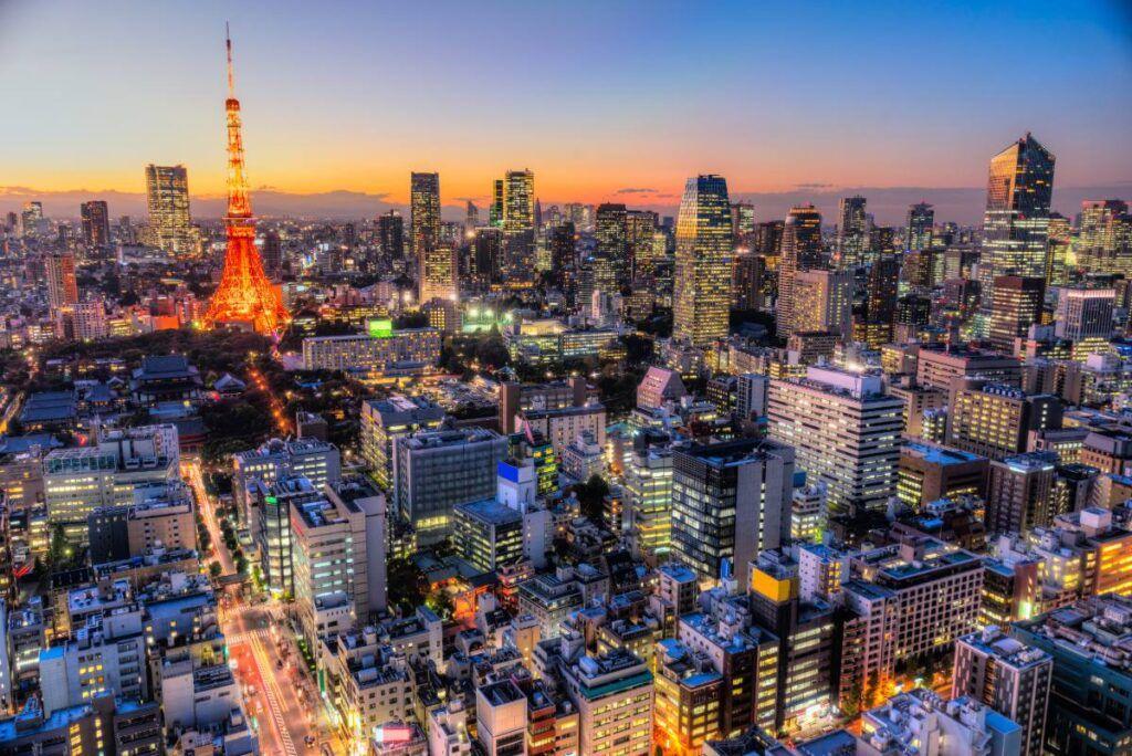 Cosa vedere in Giappone: la capitale Tokyo.