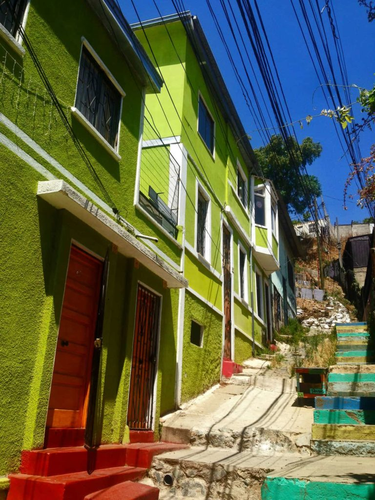 Valparaiso scalinate