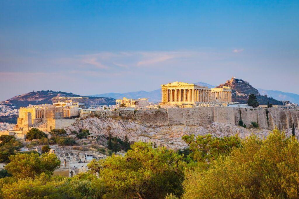 Cosa vedere in Grecia: vista di Atene