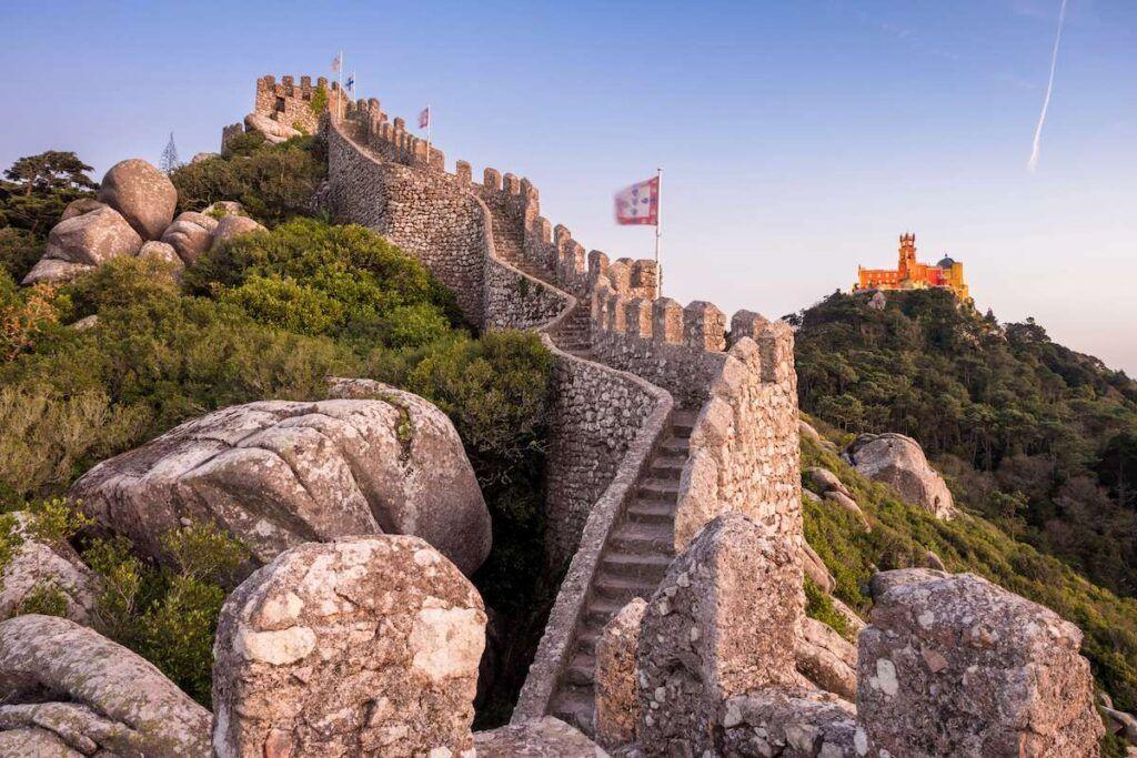Sintra Castelos dos Mouros