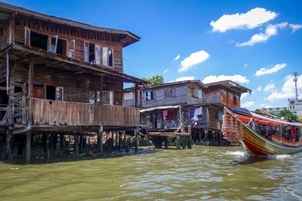 L'antico villaggio di pescatori di Thonburi