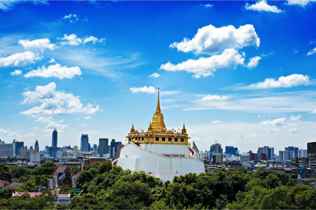 il tempio di Wat Saket