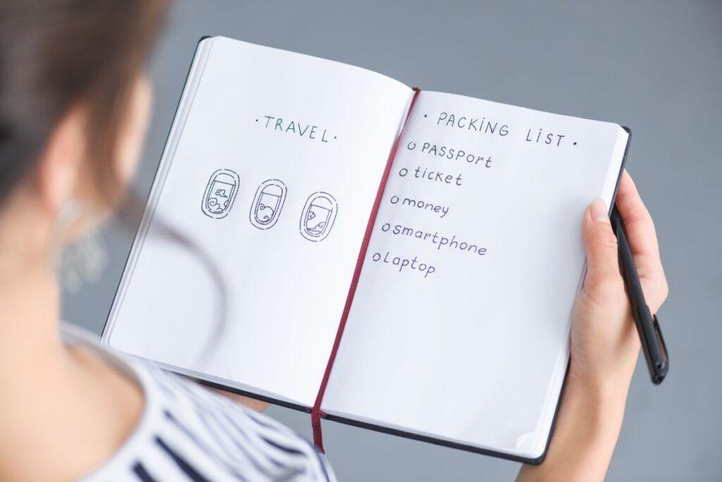 come preparare zaino viaggio: organizzarsi