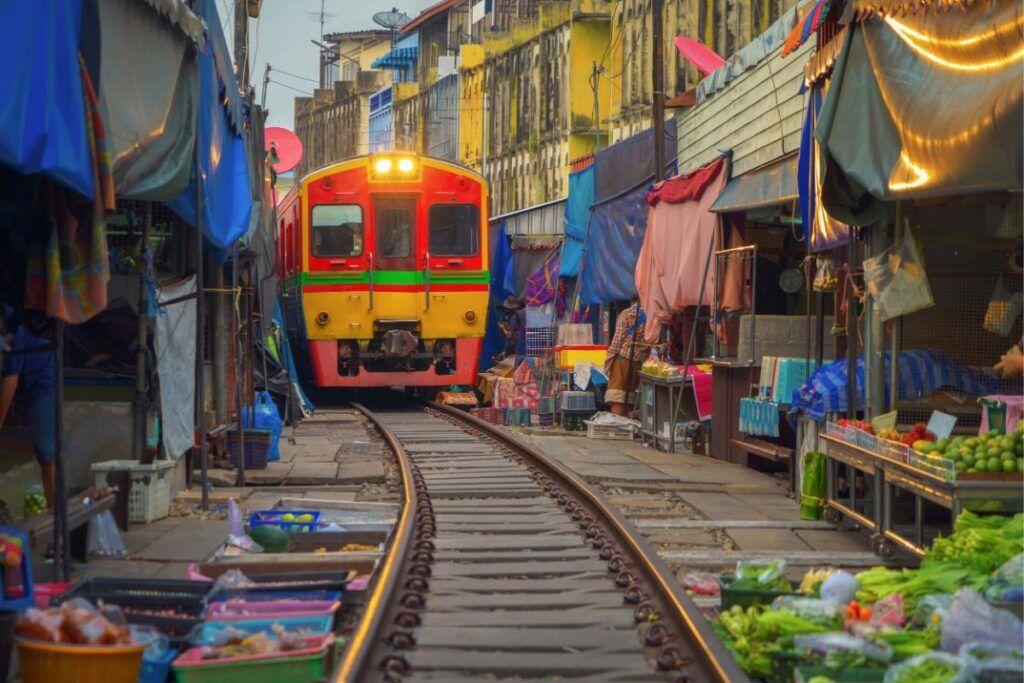 Treno Bangkok – Maeklong