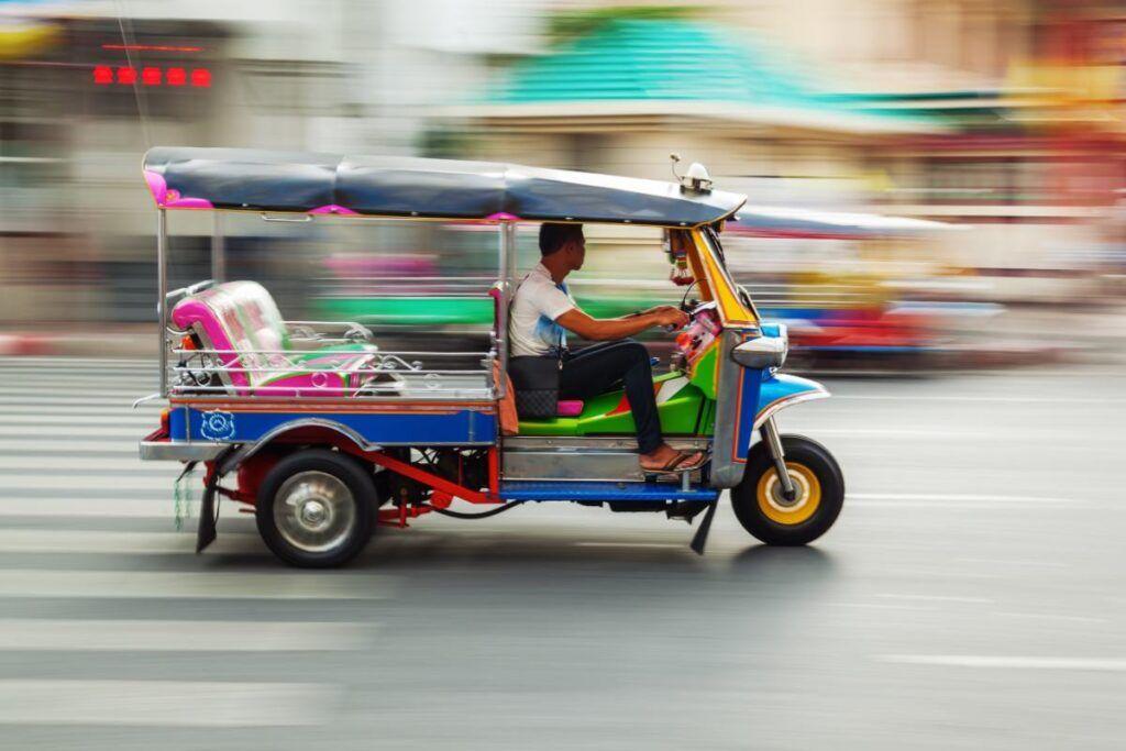 muoversi a Bangkok