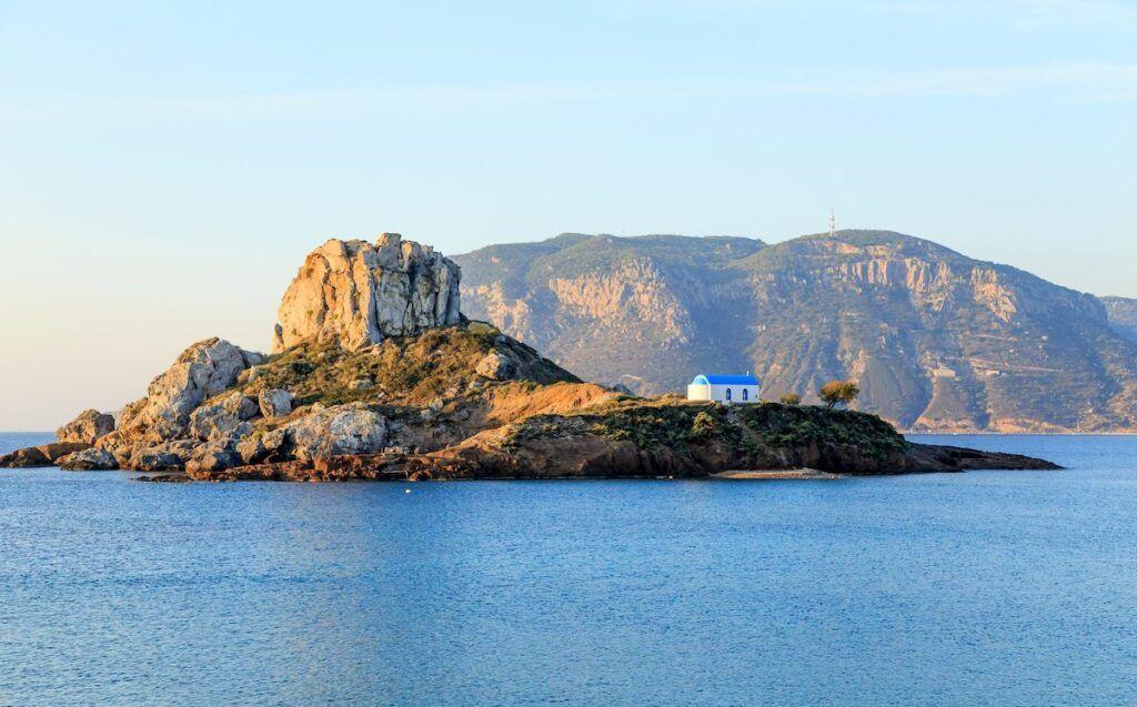 vista panoramica dall'isola di Kos
